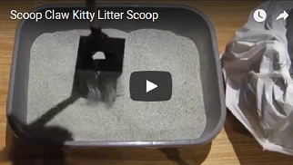 Scoop Claw Kitty Litter Scoop